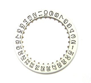 Date Disc for Panerai Movement Valjoux 7750 White #3 Window: Watches