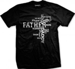 {UltraD} Fathers Day Mens T shirt, Different Names For Father Mens Shirt Clothing