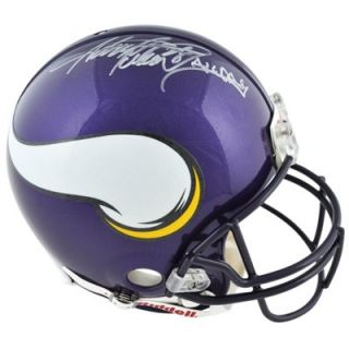 Riddell Adrian Peterson Minnesota Vikings Autographed Replica Helmet with All Day Inscription