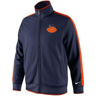 Nike Chicago Bears Retro N98 Track Jacket   Navy Blue