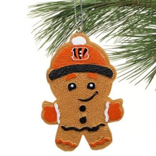 Cincinnati Bengals Gingerbread Man Logo Ornament