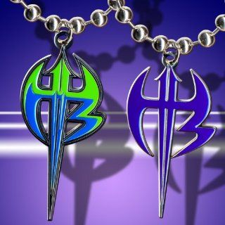 WWE Jeff Hardy Deal Set of 2 Different Logo Pendants: Everything Else