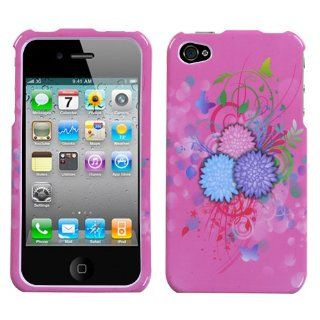 Hard Plastic Snap on Cover Fits Apple iPhone 4 4S Garden Sundae Plus A Free LCD Screen Protector AT&T, Verizon (does NOT fit Apple iPhone or iPhone 3G/3GS or iPhone 5/5S/5C): Cell Phones & Accessories