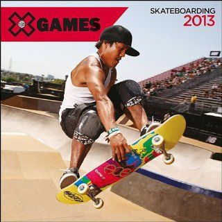 """X Games Skateboarding 2013 Wall Calendar 12"""" X 12"""""""