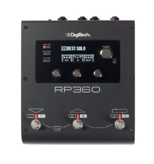 DigiTech RP360 Guitar Multi Effect with USB Streaming Musical Instruments