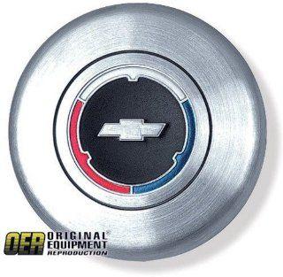 Chevy Camaro/Chevelle/Chevy II/El Camino/Impala/Nova Steering Wheel Horn Cap   w/ Bowtie 67 68 69 70: Automotive
