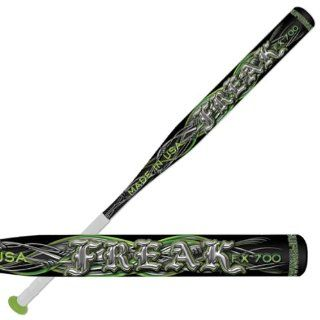 FREAK FX700 Supermax Slowpitch Softball Bats ASA BLACK/GREEN/SILVER 34 /30 OZ. : Slow Pitch Softball Bats : Sports & Outdoors