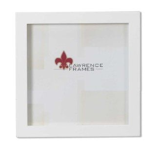 Shop Lawrence Frames White Wood Picture Frame, Gallery Collection, 5 by 5 Inch at the  Home D�cor Store