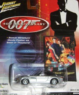 007 40th Anniversary BMW Z8 from The World Is Not Enough Inlcudes Bonus Miniature Movie Poster Toys & Games