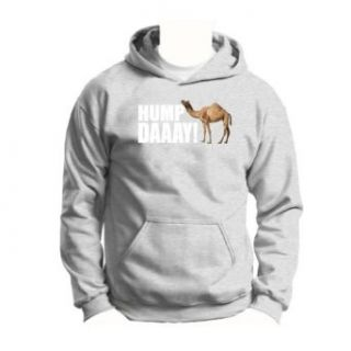 Hump Day Camel Wednesday Youth Hoodie Sweatshirt Small Ash: Clothing