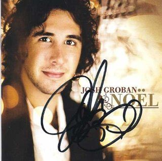 Autographed JOSH GROBAN Noel Signed CD : Other Products : Everything Else