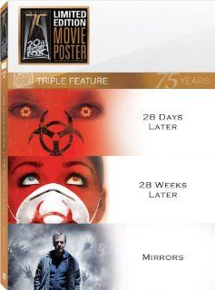 28 Days Later / 28 Weeks Later / Mirrors (20th Century Fox 75th Anniversary Triple Feature) Cillian Murphy, Jeremy Renner, Kiefer Sutherland Movies & TV