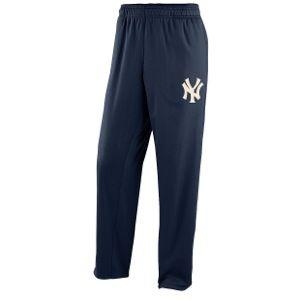 Nike MLB KO Pinstripe Pants   Mens   Baseball   Clothing   New York Yankees   Navy/Natural
