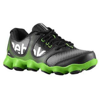 Reebok ATV19 Sonic Rush   Boys Grade School   Running   Shoes   Black/Green Smash/Foggy Grey/White