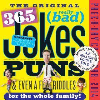 Original 365 Jokes, Puns & Even a Few Riddles 2014 Page A Day Calendar  Wall Calendars