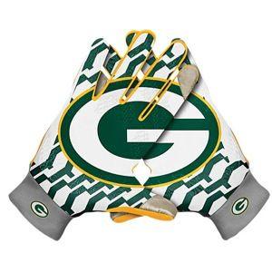 Nike NFL KO Thermal Gloves   Mens   Football   Accessories   Green Bay Packers   Multi