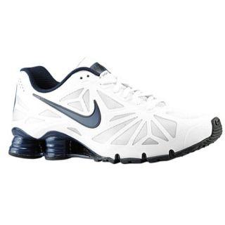 Nike Shox Turbo 14   Mens   Running   Shoes   White/Black/Black/Obsidian