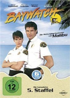Baywatch   Complete Season 5   6 DVD Box Set ( Baywatch   Complete Season Five ) ( Bay watch ) [ NON USA FORMAT, PAL, Reg.2 Import   Germany ]: David Hasselhoff, Pamela Anderson, David Charvet, Yasmine Bleeth, Jaason Simmons, Jeremy Jackson, Gregory Alan W