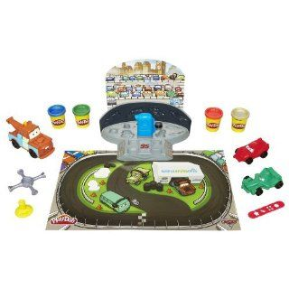Trick Out Your Favorite Cars 2 Characters, Lightning Mcqueen And Francesco, With Cool Rims And Other Fun Racing Accessories Fix Them Up In The Pit, And Then Race Your Cars Around The Track.   Play Doh Cars 2 Mold N Go Speedway Toys & Games
