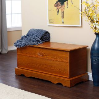 Laurel Cedar Hope Chest   Oak Finish   Cedar & Hope Chests