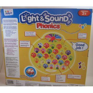 Kidz Delight Light N Sound Phonics, Yellow : Infant And Toddler Apparel : Baby