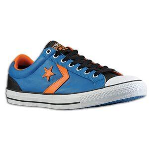 Converse Star Player EV Lo   Mens   Basketball   Shoes   Blue/Black/White