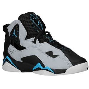 Jordan True Flight   Boys Grade School   Basketball   Shoes   White/Challenge Red/Photo Blue/Black