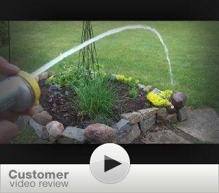 Nelson Rezimar Easy Clik Seven Pattern Spray Nozzle with Flow Control 50130  Watering Nozzles  Patio, Lawn & Garden