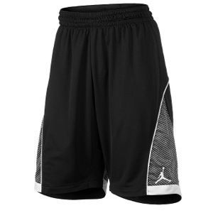 Jordan S.Flight Premium Knit Shorts   Mens   Basketball   Clothing   Black/Black/White