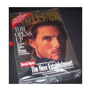 Vanity Fair October 1994 Tom Cruise; Annie Leibovitz; Grace Kelly: Editorial Staff, Annie Leibovitz: Books