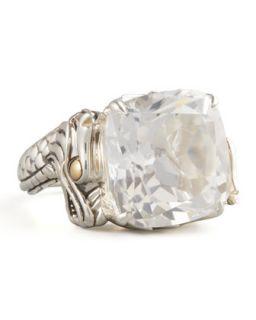 Naga Batu Ring, White Topaz   John Hardy   White topaz (6)