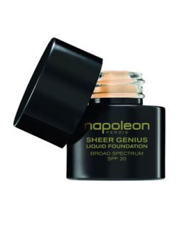 Sheer Genius Liquid Foundation Broad Spectrum SPF 20   Napoleon Perdis   Look 2