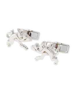Mens Tweenie Devil Cuff Links, Silver   Alfred Dunhill   Silver