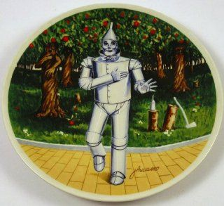 The Wizard of Oz Tin Man If I Only Had a Heart Knowles Collector Plate  Commemorative Plates
