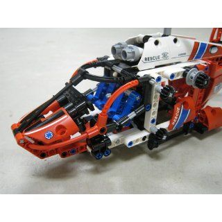 LEGO Technic Rescue Helicopter 8068: Toys & Games