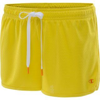 CHAMPION Womens Authentic 2.5 Novelty Shorts   Size: L, Sun/white
