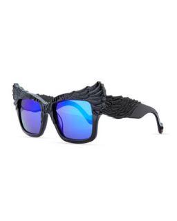 The Escapist Sunglasses, Black   Anna Karin Karlsson   Black