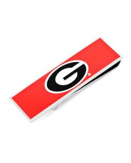 Mens Georgia Bulldogs Gameday Money Clip   Cufflinks   Red (ONE SIZE)