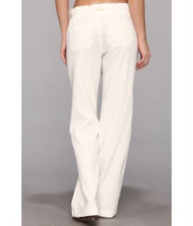 Body Glove Annie Linen Pant Cover Up White