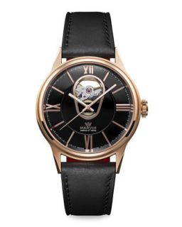 Mens DN8 Automatic Rose Gold Plated Watch   Marvin   Gold