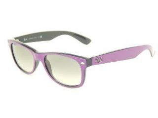 Ray Ban Wayfarer RB2132 873/32 Violet/Crystal Gray Gradient 52mm Sunglasses Clothing