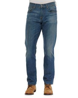 Mens Carsen LA Light Indigo Jeans   7 For All Mankind   Lt indigo (40)