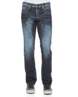 Mens Barracuda Frosty Straight Leg Jeans, Blue   PRPS   Blue (32)