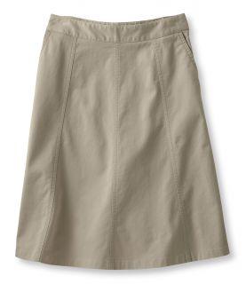 Gored Skirt , Twill Misses