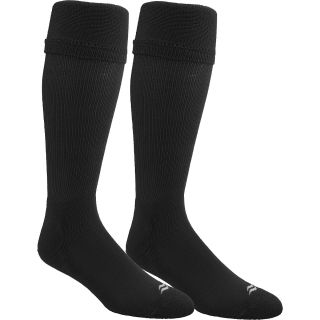 SOF SOLE Mens All Sport Over The Calf Team Socks   2 Pack   Size: L, Black