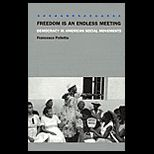 Freedom Is a Endless Meeting : Democracy in American Social Movements