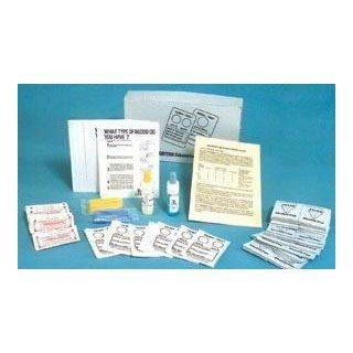 Lyophilized (Freeze Dried) ABO Blood Typing Kit (for 50 Students): Science Lab Forensic Science Classroom Supplies: Industrial & Scientific