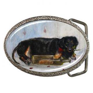 Limited Edition Violano Belt Buckle Dachshund Dog Clothing