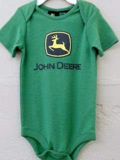 John Deere Onsie Short Sleeved : Infant And Toddler Apparel : Baby
