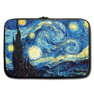 "Unidesign The Starry Night 13"" 13.3"" Inch Laptop Sleeve Bag for Apple Macbook pro, air, Dell Inspiron, Vostro, Samsung, ASUS UL30, Toshiba Notebook Computers & Accessories"